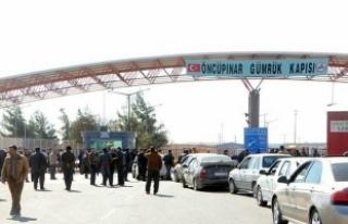 Öncüpınar sınır kapısı kapatıldı