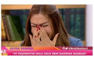 Sevda Demirel canlı yayında gözyaşlarına boğuldu!