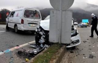 Bursa'da üst üste kaza!