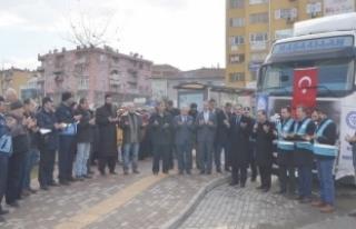 Bursa'dan Halep'e yardım eli!