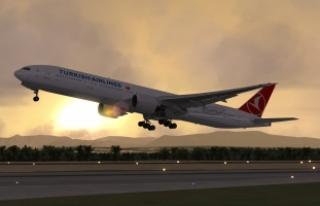 """""""Panik atak"""" hastası yolcu uçak döndürdü"""