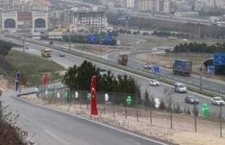 Bursa'da  o yol hizmete açıldı!