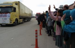 Bursa'dan El Bab'a yardım eli