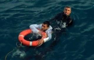 Denizde ölüm kalım savaşı!