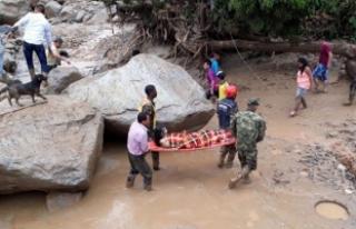Kolombiya'da ölü sayısı 254'e yükseldi