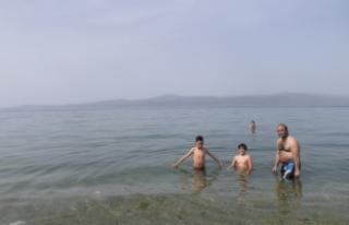 Bursa'da deniz sezonunu açtılar