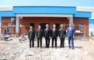 Bursa'da jandarmaya tam donanımlı salon