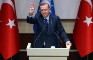 Cumhurbaşkanı Erdoğan o sloganı istemedi!