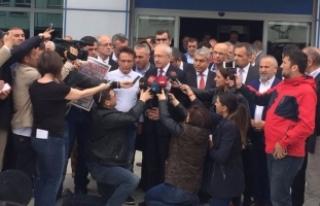 Kılıçdaroğlu'ndan Sözcü gazetesine ziyaret!