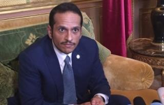 Katar'dan flaş açıklama: Pazarlık masasına...