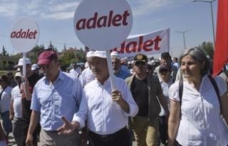 Kılıçdaroğlu, 'Adalet Yürüyüşü'nün 3....