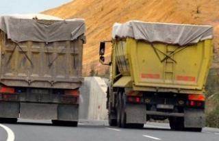 Ölüm taşıyan kamyonlara operasyon!