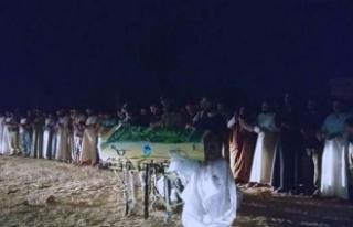 Kan donduran katliamın kurbanları toprağa verildi