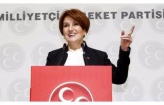 Meral Akşener'den Kılıçdaroğlu'na miting...