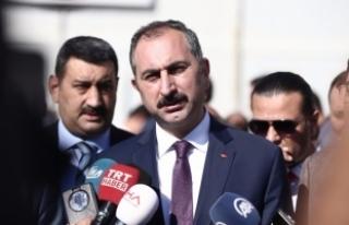 Adalet Bakanı Gül'den flaş açıklama!