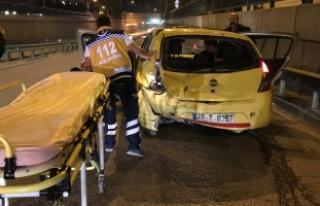 Bursa'da gece yarısı feci kaza! Anayolda geri...