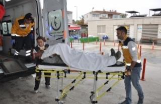 Bursa'da korkunç olay! Kolu koptu