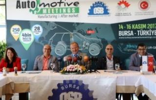 """""""Otomotiv sektörünün kalbi Bursa'da atacak"""""""