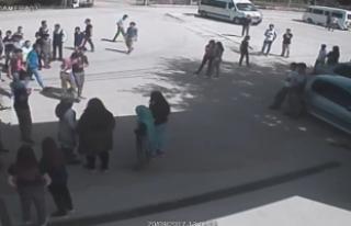 Bursa'da lise öğrencisi okulda alev alev yandı!