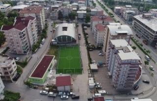 Bursa'da o mahalle modern spor tesisine kavuştu