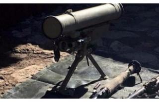 Operasyonda Rus yapımı füze ele geçirildi
