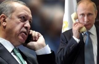 Cumhurbaşkanı Erdoğan ve Putin telefonda Kudüs'ü...