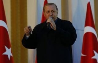 Erdoğan'dan ABD Başkanı Trump'a çok...