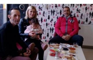 Haluk Levent Bursa'da Recep Sert'i ziyaret...