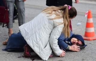 Bursa'da hamile sürücü çarptığı kadının...