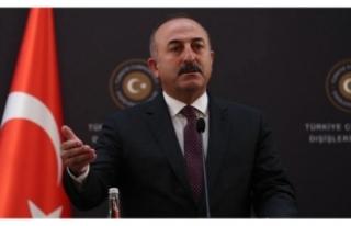 Çavuşoğlu'ndan kritik ABD açıklaması!