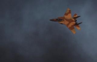 Suriye'de İsrail jeti düşürüldü!