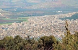 Afrin'de insansız iş makineleri devrede!