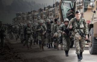 Afrin'in merkezine 8 kilometre kaldı!
