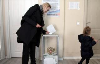Bursa'daki Rus vatandaşları sandık başında