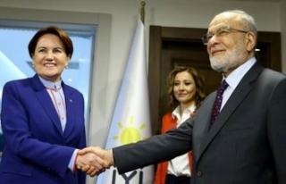 Akşener ve Karamollaoğlu'ndan seçim açıklaması!