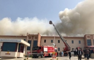 Bursa'da hastanede yangın!