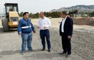 Büyükşehir'den Mudanya'ya 1200 araçlık otopark