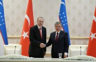 Cumhurbaşkanı Erdoğan 25 anlaşmaya imza attı!