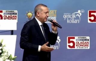"""Cumhurbaşkanı Erdoğan: """"Türkiye dönüm noktasında"""""""