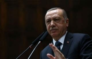 Erdoğan'dan Suriye operasyonu açıklaması
