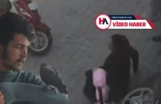 Sokakta terör estirdi, hamile kadını tekmeledi,...