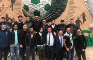 Bursaspor şampiyon kadrosu buluştu