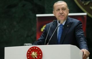 Erdoğan'dan Türkiye'deki misafir öğrencilere...