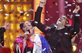 Eurovision'da kazanan belli oldu... Geceye sahneye...