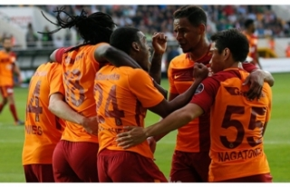 Galatasaray zirveyi sevdi