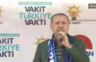 HDP'ye miting izni veren Almanya'ya Erdoğan'dan...