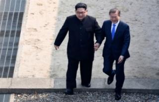 Kuzey ve Güney Kore liderlerinden sürpriz buluşma!