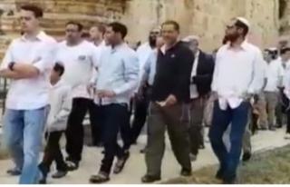 Yahudi yerleşimcilerden Mescid-i Aksa'ya baskın