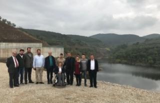 Bursa'da Yalıçiftlik Barajı'na su dolmaya...