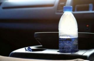 Arabada su şişesi bırakanlar dikkat! Tehlike saçıyor...